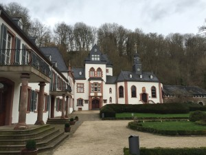 Dagstuhl er et gammelt, hjemsøkt slott i sør-Tyskland.